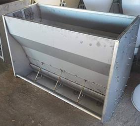 养猪场不锈钢料槽