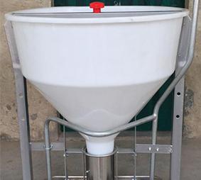 自动干湿下料器