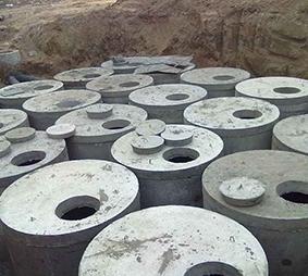 巴盟水泥预制化粪池